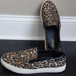 Kenneth Cole animal print sneakers